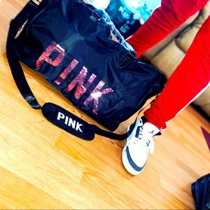 LAST ONE PINK Large duffle